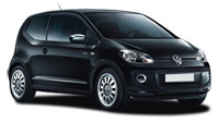 Car Rental in Madeira -  Book a Volkswagen Up A/C with Funchal Car Hire